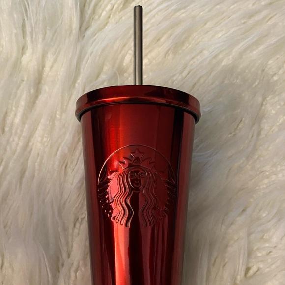 Starbuck Red Chrome Tumbler